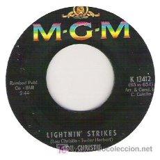 Discos de vinilo: LOU CHIRSTIE- LIGHT`STRIKES /CRYIN IN THE STREET. Lote 5780169