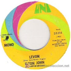 Discos de vinilo: ELTHON JHON - LEVON / GOODBYE. Lote 5780189