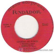 Discos de vinilo: COCKTAIL DE RITMOS -1965. Lote 5780230