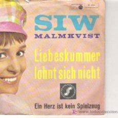 Discos de vinilo: SIW -MALMMKVIST - CHICA YE YE 1964. Lote 14030310