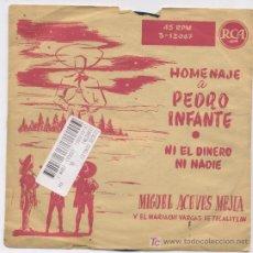 Discos de vinilo: MIGUEL ACEVES MEJIA. Lote 5813658