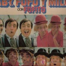 Discos de vinilo: DISCO L.P. DE VINILO DE GABY, FOFÓ Y MILIKI CON FOFITO: HABÍA UNA VEZ UN CIRCO, DALE RAMÓN, RATONCIT. Lote 25137505