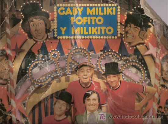 DISCO L.P. DE VINILO DE GABY, MILIKI, FOFITO Y MILIKITO: CÓMO ME PICA LA NARIZ, EL CAÑÓN DE CARAMELO (Música - Discos - LPs Vinilo - Música Infantil)