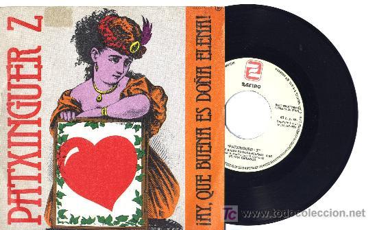 PATXINGUER Z SINGLE PROMO (Música - Discos - Singles Vinilo - Grupos Españoles de los 70 y 80)