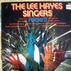 Discos de vinilo: LP - THE LEE HAYES SINGERS - PRESENT - ORIGINAL ESPAÑOL, BASF 1975. Lote 5833833