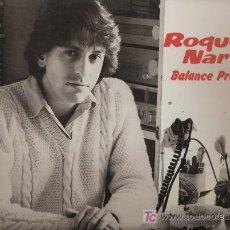Discos de vinilo: DISCO L.P. DE VINILO DE ROQUE NARVAJA, BALANCE PROVISIONAL: NI UNA PALABRA, COMO SI ESTUVIERAS AQUÍ,. Lote 25213664