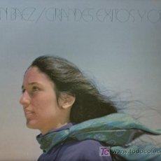 Discos de vinilo: DISCO L.P. DE VINILO DE JOAN BAEZ, GRANDES EXITOS Y OTROS: LA NOCHE QUE TOMARON DIXIE, CONVERSACIÓN . Lote 25213668