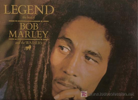 DISCO L.P. DE VINILO DE BOB MARLEY AND THE WAILERS, LEGEND, THE BEST OF: IS THIS LOVE, NO WOMAN NO C (Música - Discos - LP Vinilo - Reggae - Ska)
