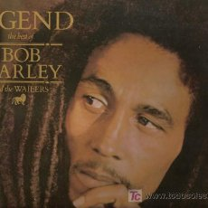 Discos de vinilo: DISCO L.P. DE VINILO DE BOB MARLEY AND THE WAILERS, LEGEND, THE BEST OF: IS THIS LOVE, NO WOMAN NO C. Lote 25213667
