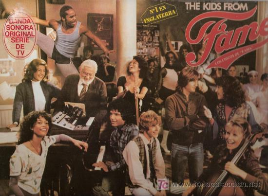 Discos de vinilo: Disco L.P. de vinilo de The Kids of Fame, From the NBC: Starnaker, I can do Anything Better than you - Foto 1 - 25235418