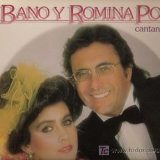 Discos de vinilo: DISCO L.P. DE VINILO AL BANO Y ROMINA POWER CANTAN EN ESPAÑOL: QUÉ ÁNGEL SERÁ, ISLA PARA DOS, MEDITA. Lote 25764184