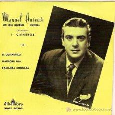 Discos de vinilo: MANUEL AUSENSI EP SELLO ALHAMBRA AÑO 1960. Lote 5841840