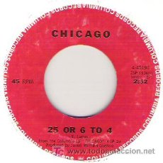 Discos de vinilo: CHICAGO - 25 OR 6 TO 4 / WHERE DO WE GO FROM HERE. Lote 5867723