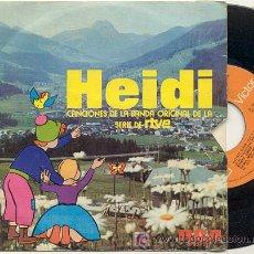 Discos de vinilo: SINGLE 45 RPM / HEIDI / OSHIETE /// EDITADO POR RCA . Lote 139674564