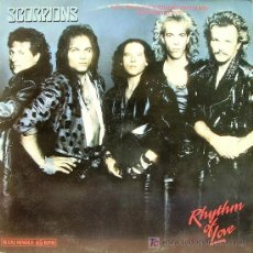 Discos de vinilo: SCORPIONS-RHYTHM OF LOVE MAXI SINGLE EDITA EMI EN 1988. Lote 5876372