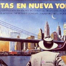 Discos de vinilo: POETAS EN NUEVA YORK LP CON ENCARTE LETRAS DE LAS CANCIONES ORIGINAL CBS 1986 VARIOS ARTISTAS. Lote 20595237