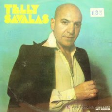 Discos de vinilo: TELLY SAVALAS-TELLY LP VINILO EDITA MCA EN 1975. Lote 44867496