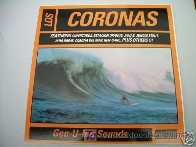 LP LOS CORONAS GEN-U-INE SOUNDS SURF SEX MUSEUM VINILO (Música - Discos - LP Vinilo - Rock & Roll)