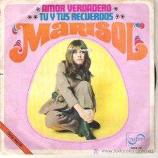 Discos de vinilo: MARISOL - AMOR VERDADERO / TU Y TUS RECUERDOS ---1969. Lote 5949004