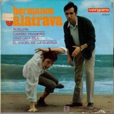 Discos de vinilo: HUMOR-HERMANOS CALATRAVA-ALELUYA + 3 EP VINILO EDITA VERGARA EN 1967. Lote 5952442