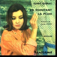 Discos de vinilo: SAMY SUMAC - EN ECOUTANT LA PLUIE / MEDIUM (MADE IN FRANCE). Lote 13838449