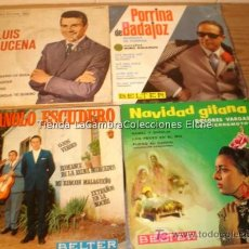 Discos de vinilo: 4 DISCOS SINGLES. Lote 5975243