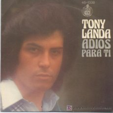 Discos de vinilo: TONY LANDA. Lote 5975572