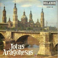 Discos de vinilo: DISCO DE JOTAS ARAGONESAS - ORLADOR 10087 B - ENCARNITA RODRÍGUEZ. Lote 19799913