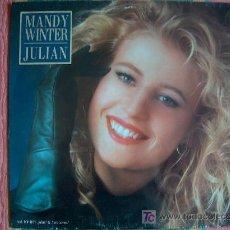 Discos de vinilo: LP - MANDY WINTER - JULIAN - ORIGINAL ALEMÁN, EMI 1987. Lote 5982012