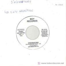 Discos de vinilo: D'MIXMASTERS - THE MAGNIFICAN SEVEN / CANYON - SINGLE PROMO ESPAÑOL DE 1991. Lote 5984273
