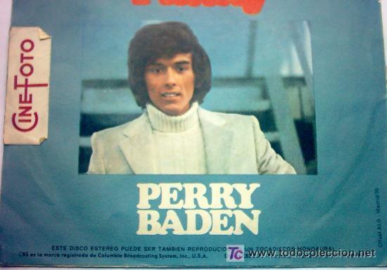Discos de vinilo: PERRRY BADEN - Foto 2 - 27365986