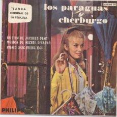 Discos de vinilo: LOS PARAGUAS DE CHERBURGO. Lote 6002424