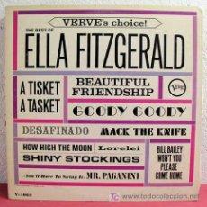 Discos de vinilo: ELLA FITZGERALD ( THE BEST OF ELLA FITZGERALD ) USA-1964 LP33 VERVE RECORDS. Lote 6017725