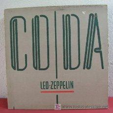Discos de vinilo: LED ZEPPELIN ( CODA ) NEW YORK-1982 LP33. Lote 6021449
