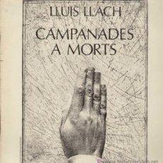 Discos de vinilo: LLUIS LLACH / CAMPANADES A MORTS (LP MOVIEPLAY DE 1977). Lote 14799737