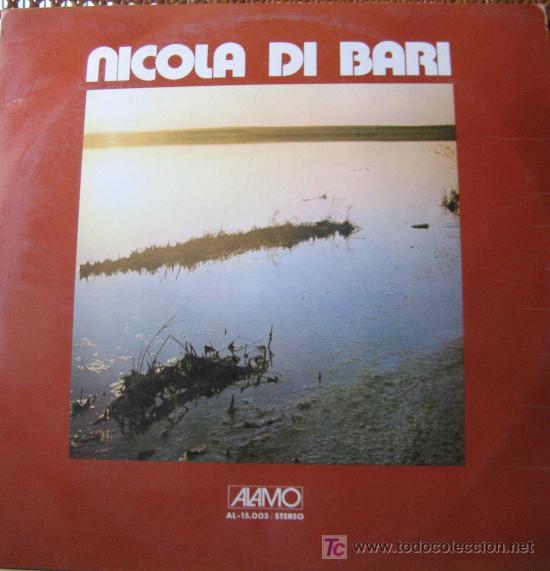 NICOLA DI BARI. AMIGOS MIOS. LP 33 RPM ALAMO ED. EN ITALIA 1973. RARO. (Música - Discos - LP Vinilo - Canción Francesa e Italiana)