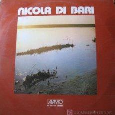 Discos de vinilo: NICOLA DI BARI. AMIGOS MIOS. LP 33 RPM ALAMO ED. EN ITALIA 1973. RARO.. Lote 27455399