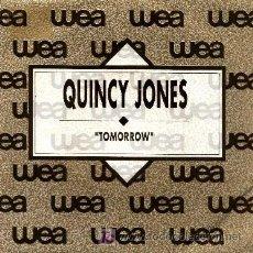 Discos de vinilo: QUINCY JONES ··· TOMORROW - (SINGLE 45 RPM). Lote 22519420