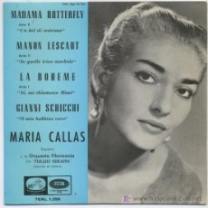 Discos de vinilo: MARIA CALLAS. Lote 6056100