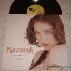 Discos de vinilo: MADONNA MAXISINGLE CHERISH - SUPERNATURAL - 1989 SIRE RECORDS - (VINILO 12 PULGADAS). Lote 18122023