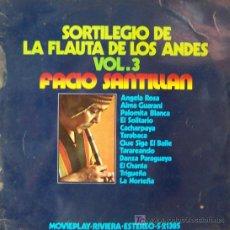 Discos de vinilo: SORTILEGIO DE LA FLAUTA DE LOS ANDES. Lote 27179935