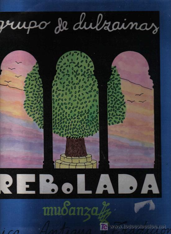 LP GRUPO DE DULZAINAS REBOLLADA - MUSICA ANTIGUA Y TRADICIONAL - SONIFOLK 1988 (Música - Discos - LP Vinilo - Étnicas y Músicas del Mundo)