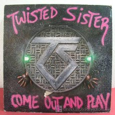Discos de vinilo: TWISTED SISTER ( COME OUT AND PLAY ) USA - 1985 LP33 ATLANTIC. Lote 6095561