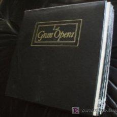 Discos de vinilo: LA GRAN OPERA - 5 ESTUCHES CON UN TOTAL DE 100 L.P.. - IMPECABLES - COMO NUEVOS!!!!!!!!!!!!!!!!.. Lote 12689289