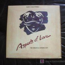 Discos de vinilo: ASPECTS OF LOVE - MUSICAL DE ANDREW LLOYD WEBBER - COMO NUEVO - CON LOS INTÉRPRETES ORIGINALES.. Lote 12661101