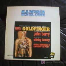 Discos de vinilo: GOLDFINGER - BANDA SONORA ORIGINAL DE JOHN BARRY.. Lote 12781397