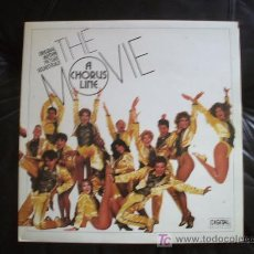 Discos de vinilo: A CHORUS LINE - BANDA SONORA ORIGINAL. COMO NUEVO !!!!!!!!!!!!!!!!!!!!!!!!!!!!!!.. Lote 12970199