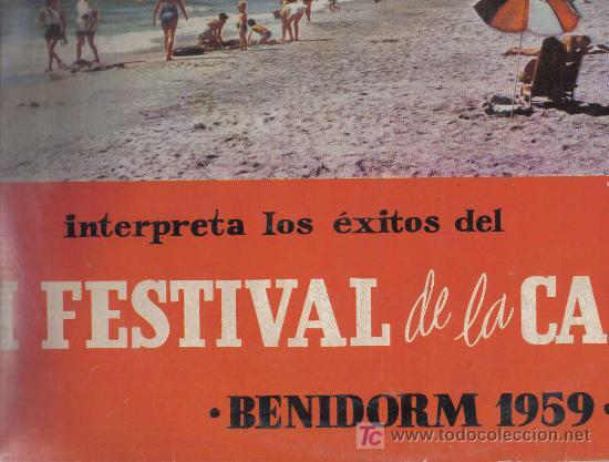LP MONNA BELL -INTERPRETA LOS EXITOS DEL I FESTIVAL DE BENIDORM 1959 - GREG SEGURA AUGUSTO ALGUERO (Música - Discos - LP Vinilo - Otros Festivales de la Canción)
