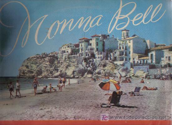 Discos de vinilo: LP MONNA BELL -INTERPRETA LOS EXITOS DEL I FESTIVAL DE BENIDORM 1959 - GREG SEGURA AUGUSTO ALGUERO - Foto 2 - 27354102