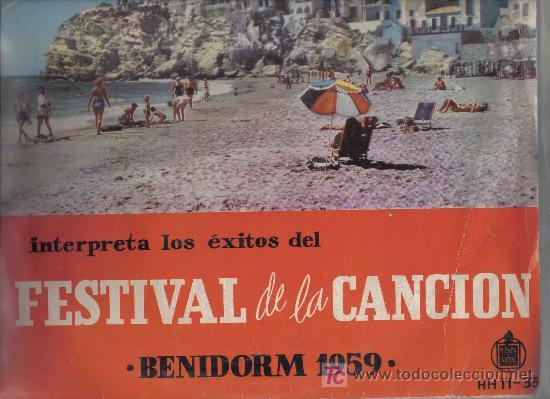 Discos de vinilo: LP MONNA BELL -INTERPRETA LOS EXITOS DEL I FESTIVAL DE BENIDORM 1959 - GREG SEGURA AUGUSTO ALGUERO - Foto 3 - 27354102